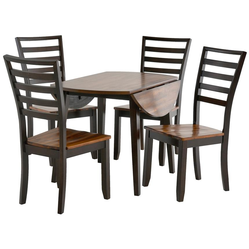 Mike 5 Piece Casual Dining Set Alternate Image 2 Of 13 Images