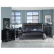 Isabel Black 4-Piece Queen Bedroom Set  alternate image, 2 of 6 images.