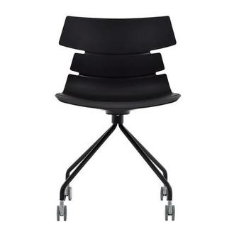 Dot Black Desk Chair