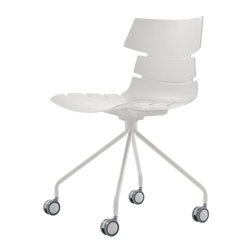 Dot White Desk Chair Alternate Image 2 Of 7 Images
