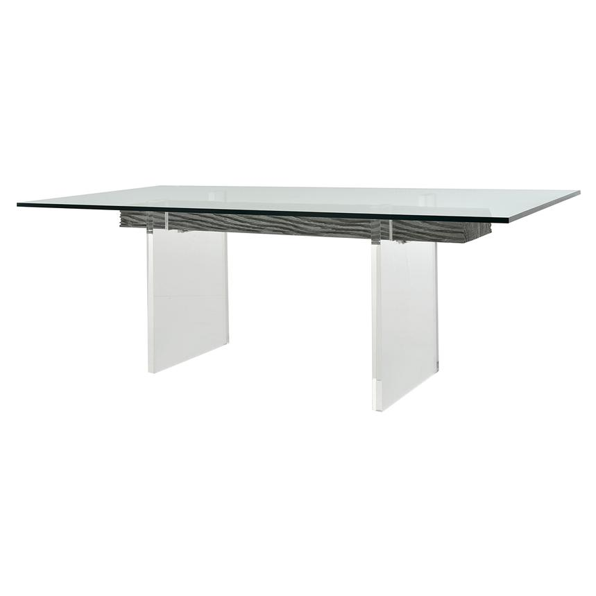 Miami Beach Gray Rectangular Dining Table Alternate Image 2 Of 5 Images