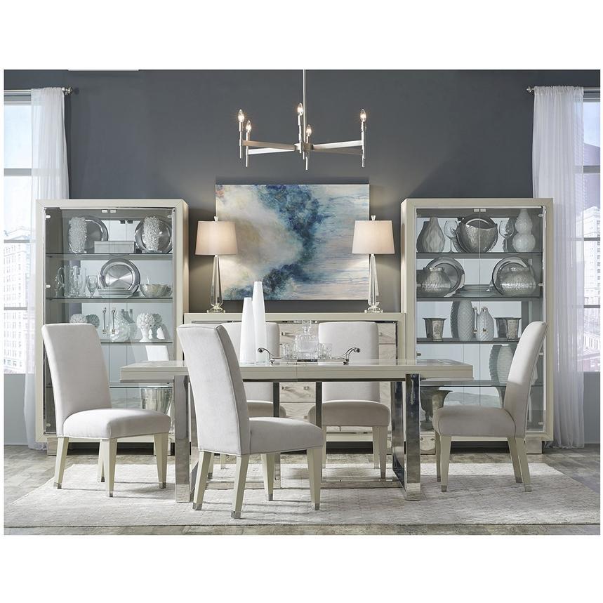 Cydney 5 Piece Formal Dining Set Alternate Image 2 Of 16 Images