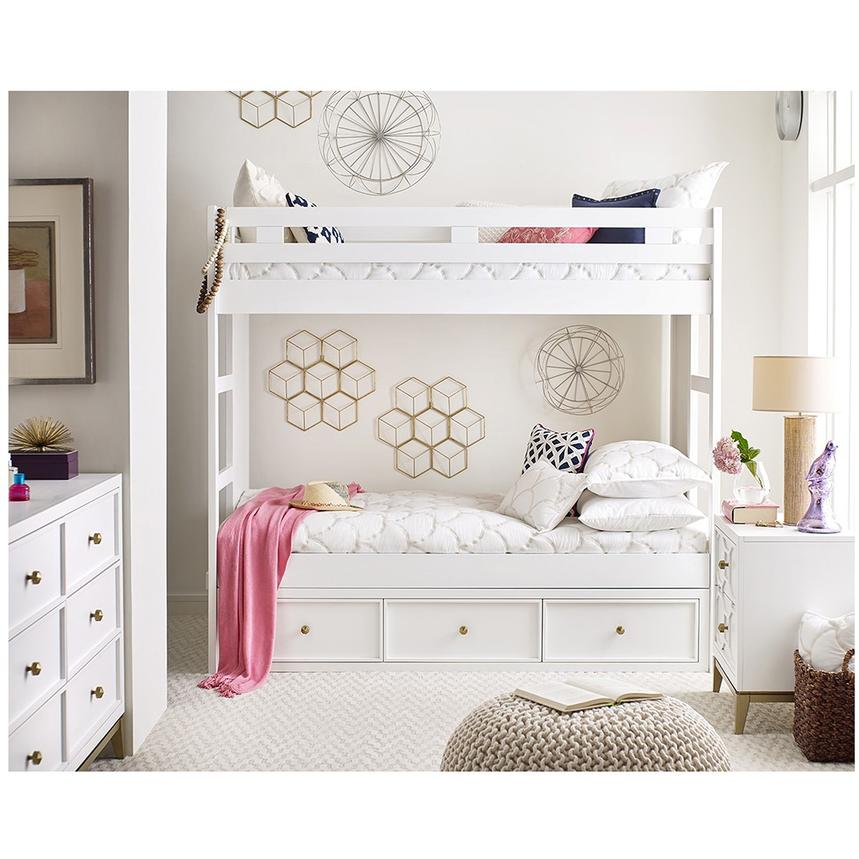 Rachael Ray's Uptown Twin Over Twin Bunk Bed  alternate image, 2 of 7 images.