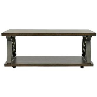 Lakeland Coffee Table w/Casters