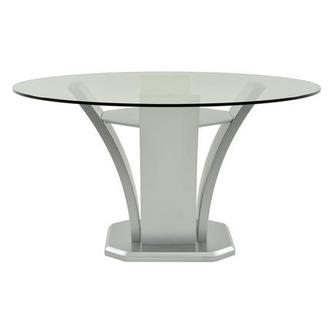 Daisy Silver Round Dining Table