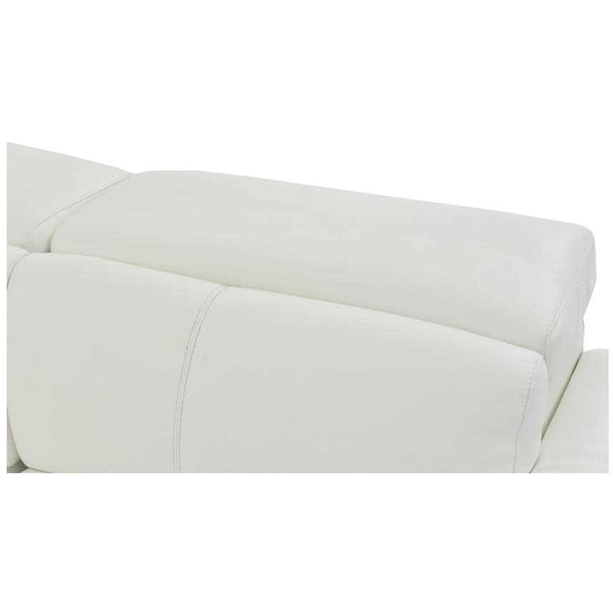 Charlie White Power Motion Leather Sofa w/Right & Left Recliners  alternate image, 7 of 9 images.