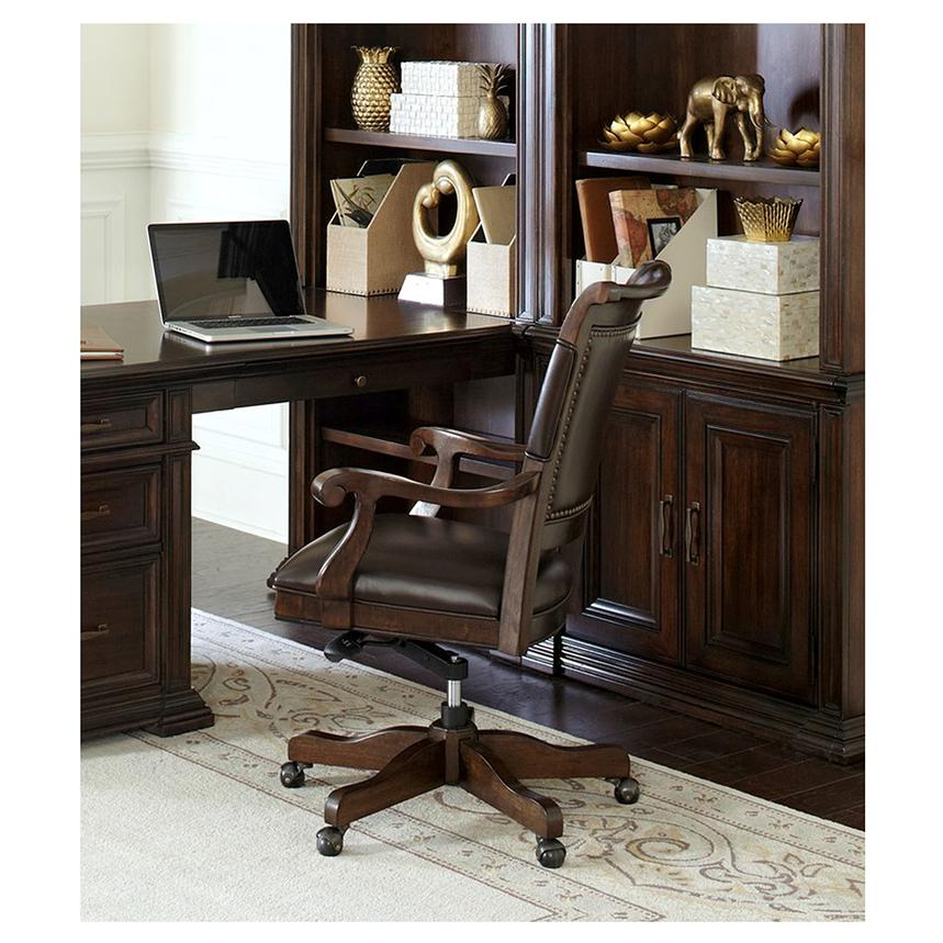 classic desk chairs. Grand Classic Leather Desk Chair Alternate Image, 2 Of 8 Images. Chairs U