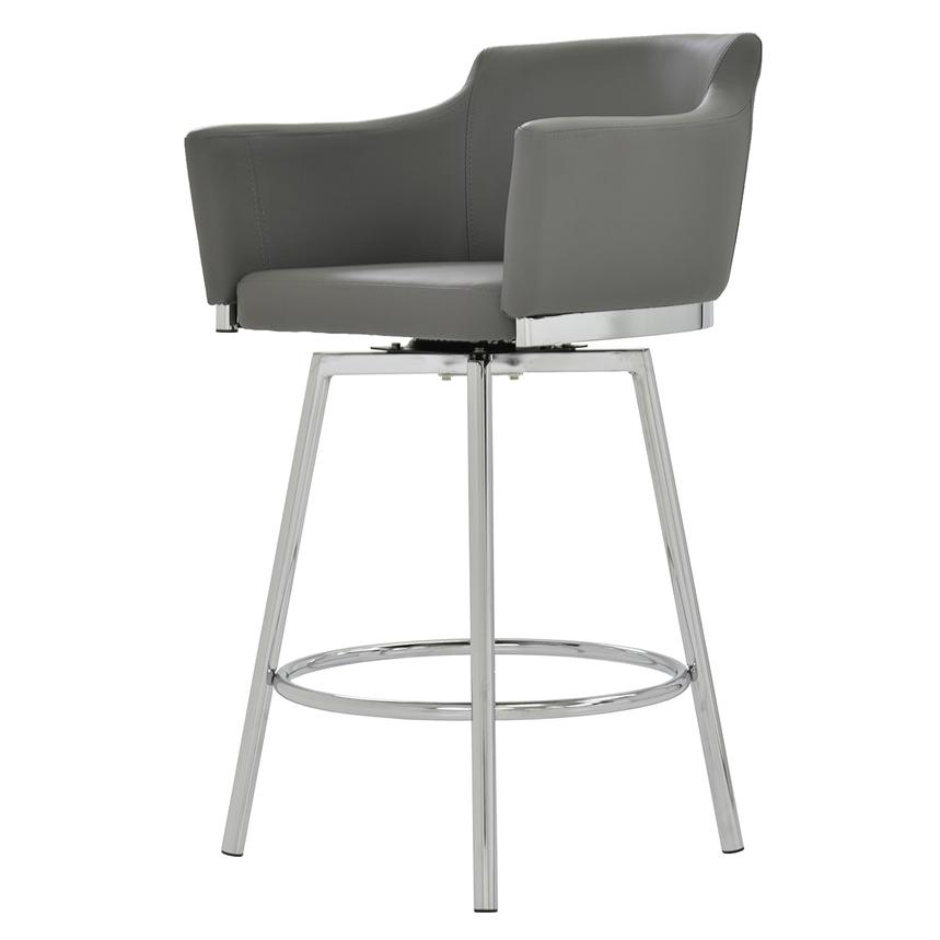 Dusty Gray Swivel Counter Stool El Dorado Furniture