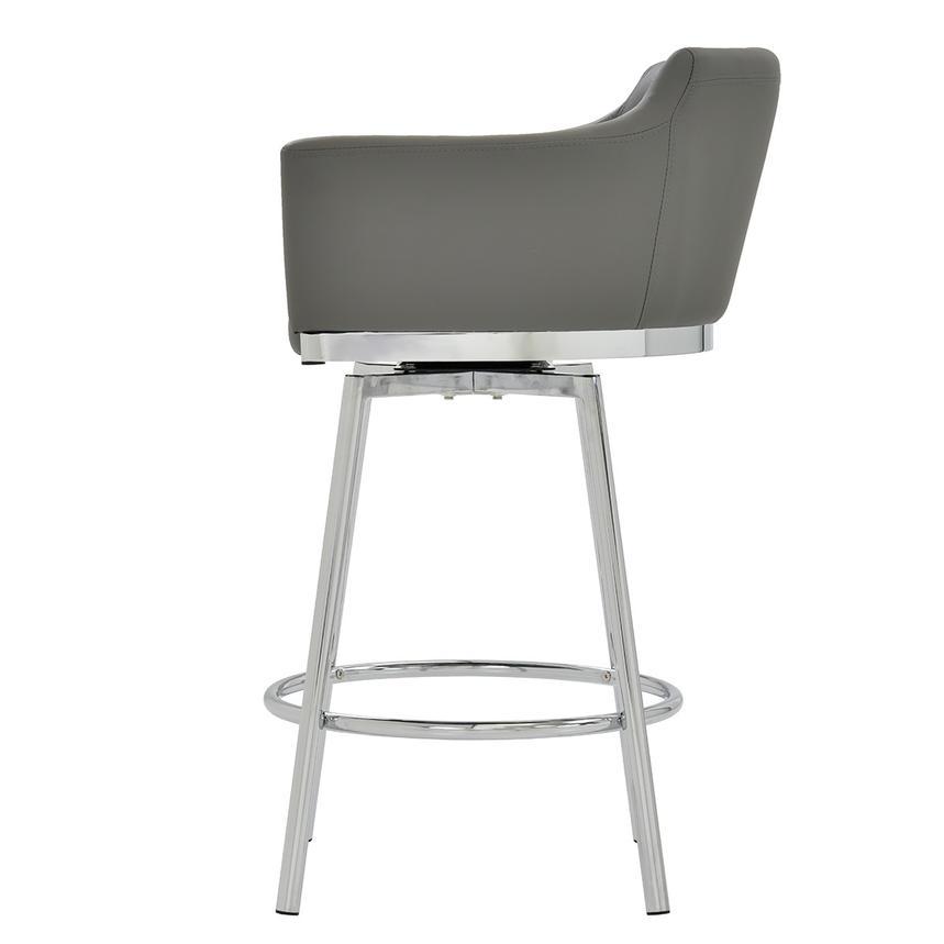 Dusty Gray Swivel Counter Stool El Dorado Furniture