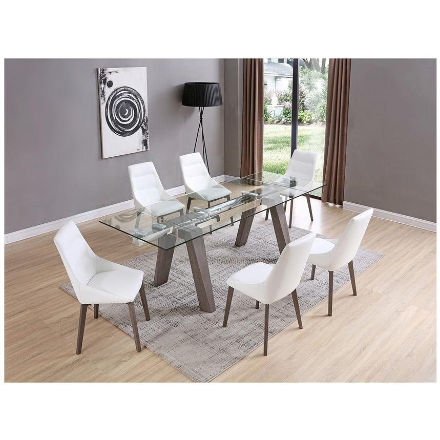 Valencia Gray Extendable Dining Table Alternate Image 2 Of 8 Images