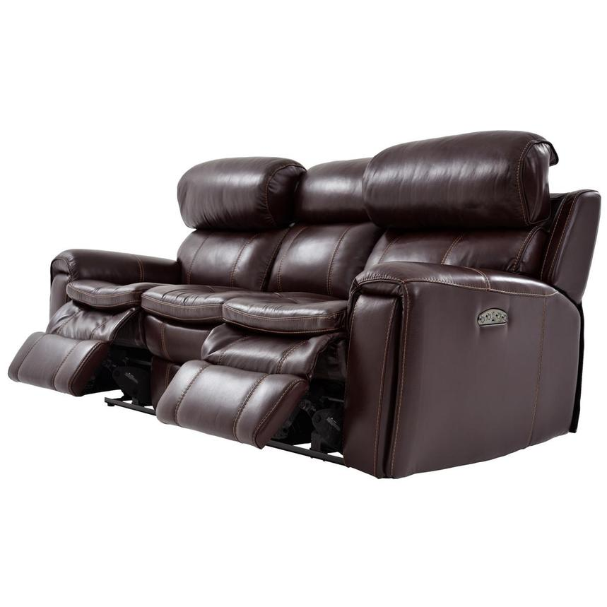 Napa Power Motion Leather Sofa  alternate image, 3 of 7 images.