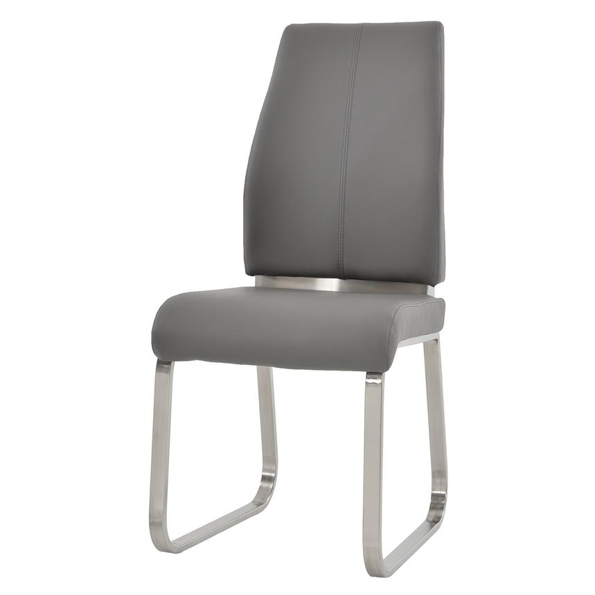 Karlo Gray Side Chair  alternate image, 2 of 7 images.