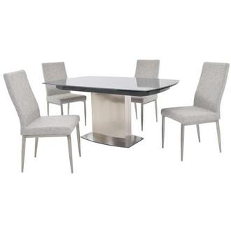 Attirant Mavis 5 Piece Formal Dining Set