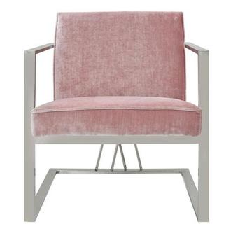 Fairmont Pink Accent Chair
