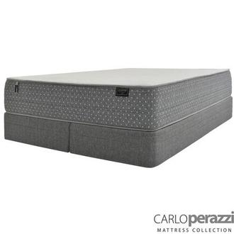 ST. Moritz HB King Mattress w/Regular Foundation by Carlo Perazzi
