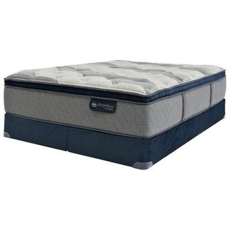 Fusion 300 PT King Mattress w/Low Foundation by Serta