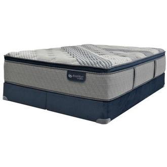 Fusion 1000 PT King Mattress w/Low Foundation by Serta