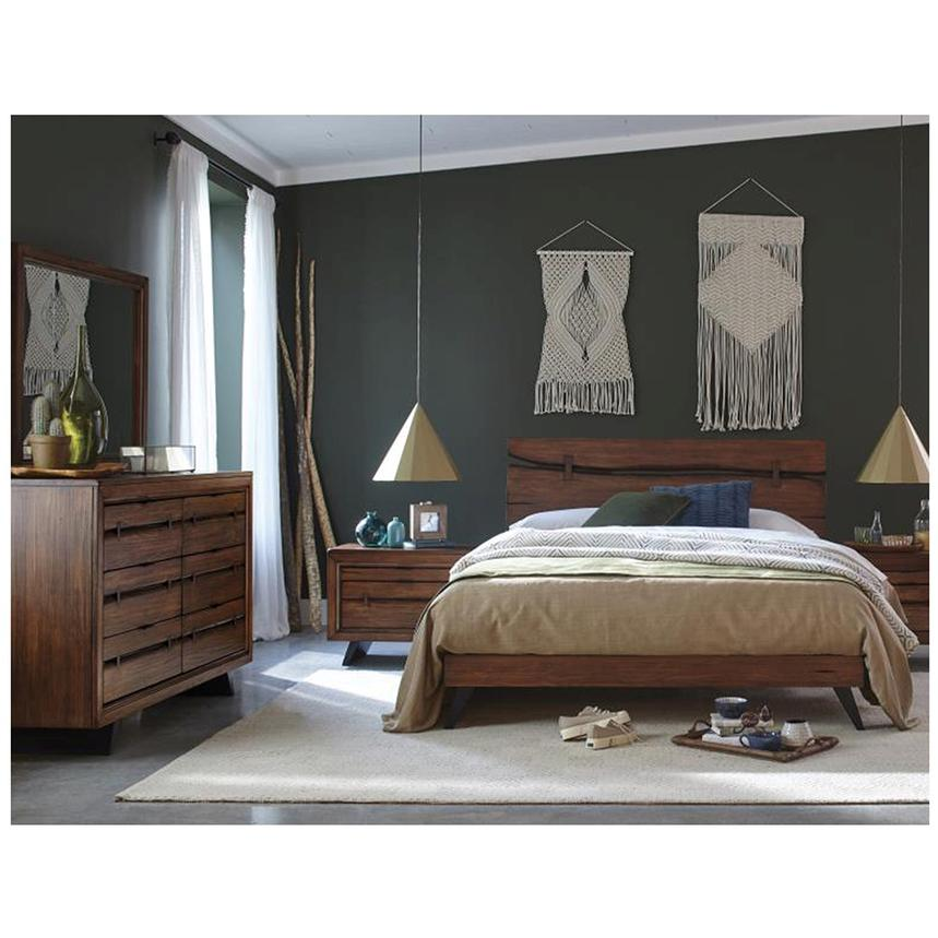 Carpentry Queen Platform Bed Made in Brazil  alternate image, 2 of 6 images.
