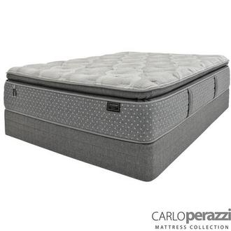 Genoa Full Mattress w/Regular Foundation by Carlo Perazzi
