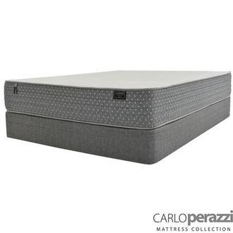 Merano HB Full Mattress w/Low Foundation by Carlo Perazzi