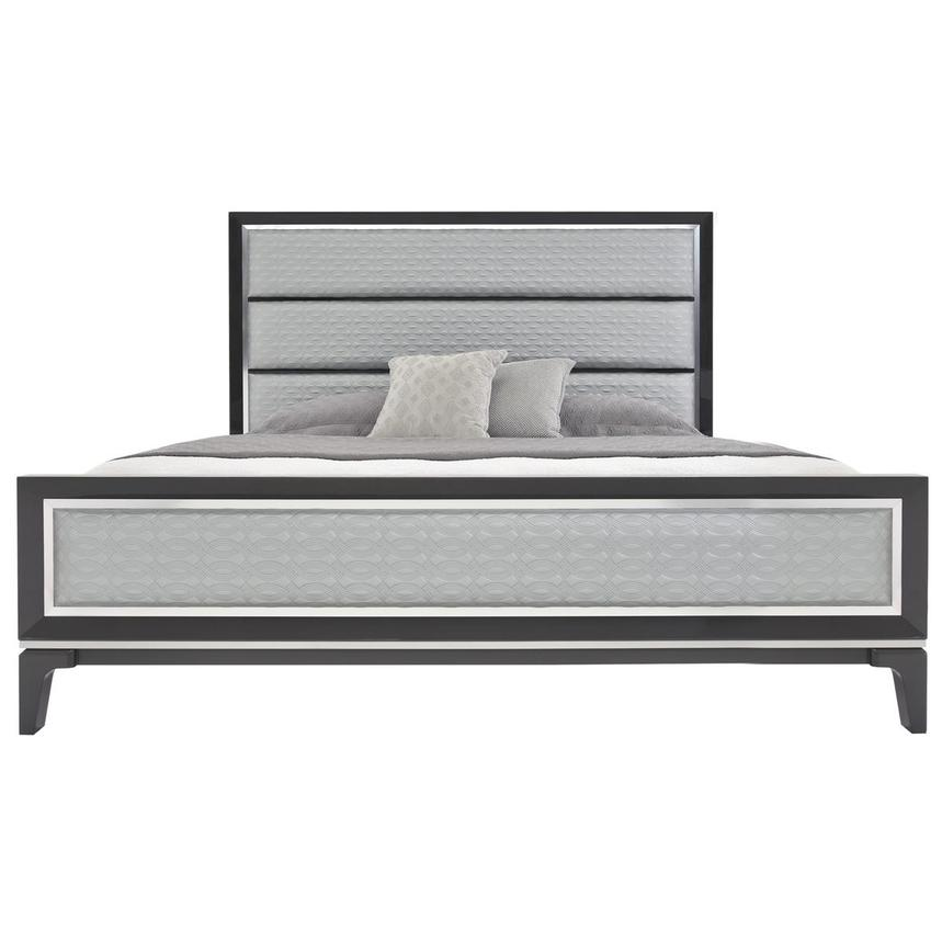 Chelsea Gray 4-Piece Queen Bedroom Set  alternate image, 3 of 6 images.