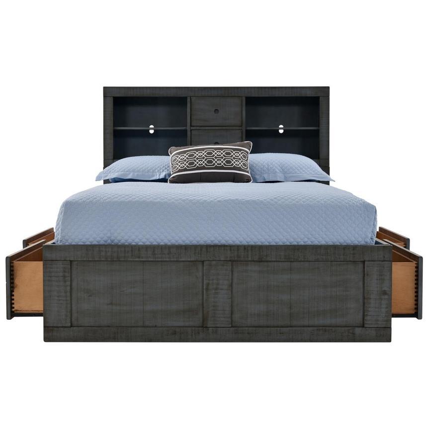 Blue Ridge Full Bookcase Bed Alternate Image, 2 Of 7 Images.