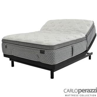 Karina iFlex Queen Mattress w/Essentials III Powered Base by Serta