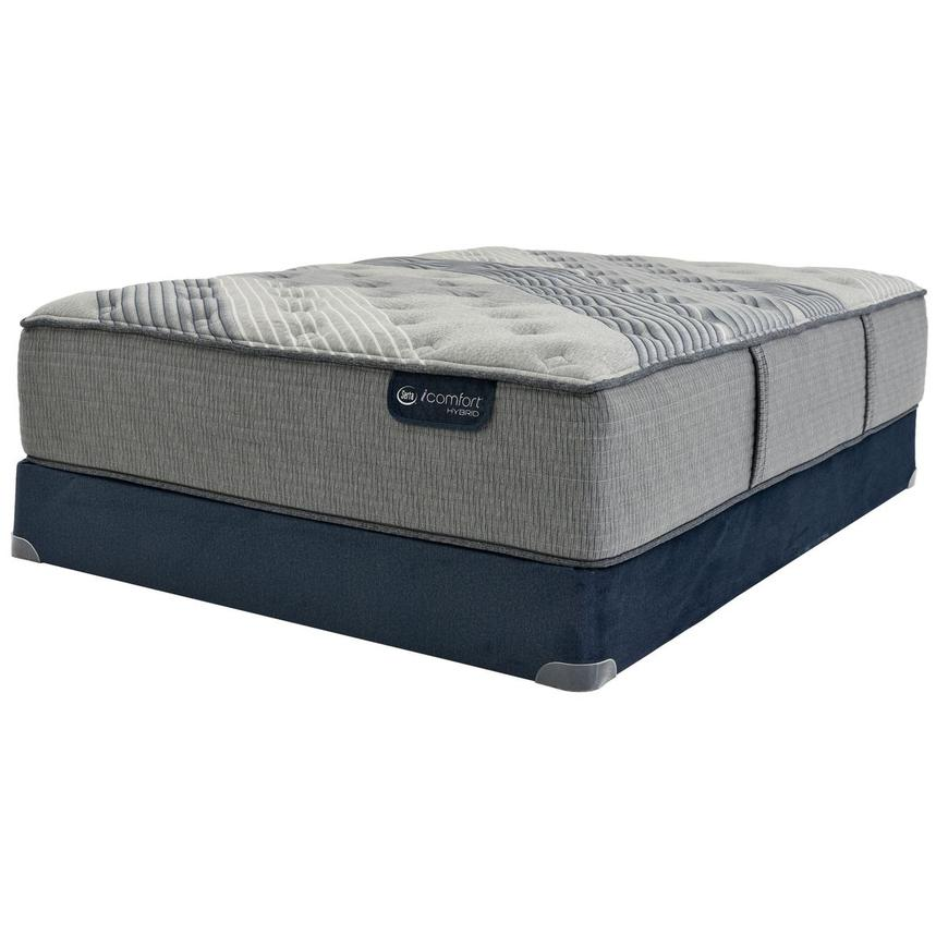 Fusion 1000 Queen Mattress w/Regular Foundation by Serta  alternate image, 3 of 5 images.