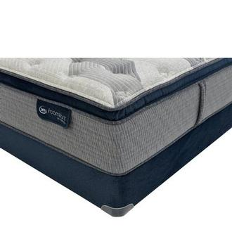 Fusion 300 PT Queen Mattress w/Regular Foundation by Serta