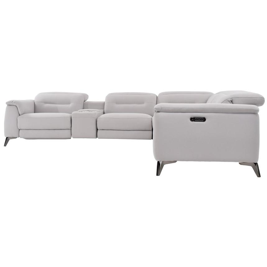 Claribel Power Motion Sofa w/Right & Left Recliners  alternate image, 3 of 8 images.