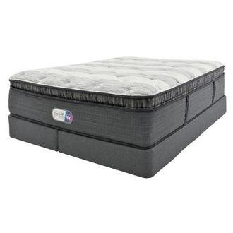 Clover Spring PT King Mattress w/Low Foundation by Simmons Beautyrest Platinum