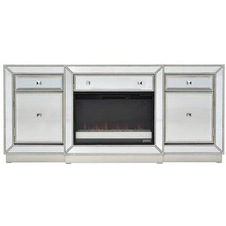 Uribia Faux Fireplace w/Remote Control