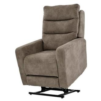 Jimmy Light Brown Power-Lift Recliner