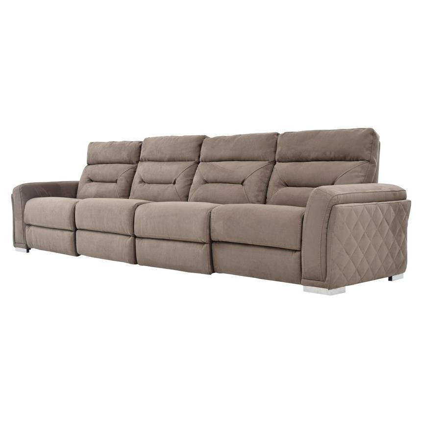 Kim Brown Oversized Sofa El Dorado Furniture