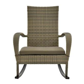 Neilina Brown Rocking Chair
