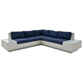 Ft.Meyers Blue Sofa