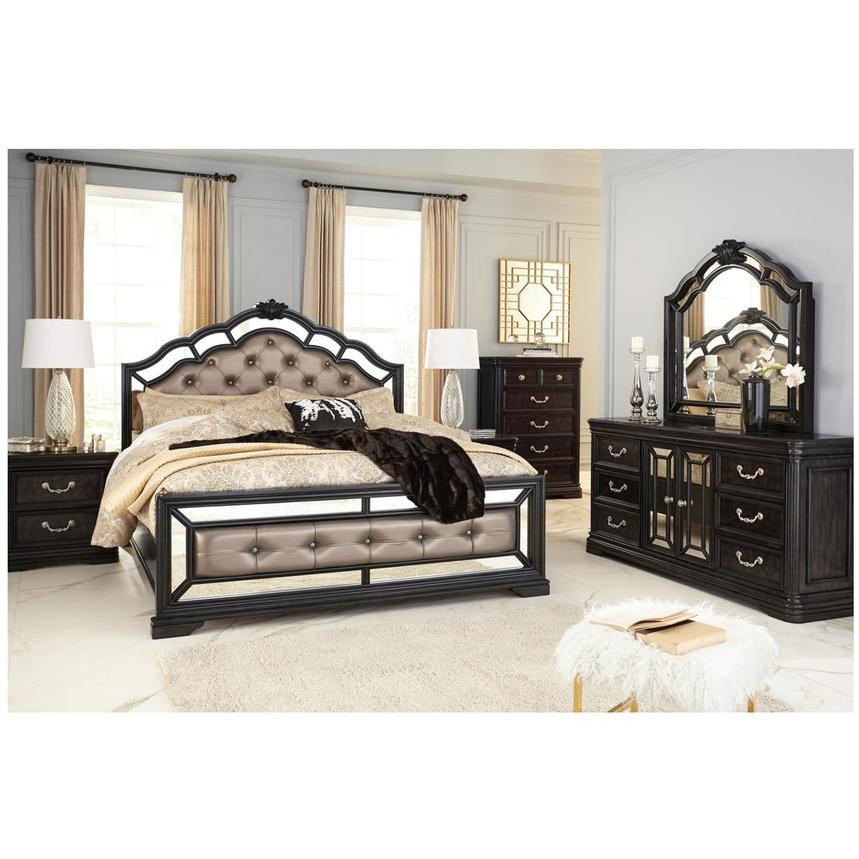 Medellin 4 Piece King Bedroom Set Alternate Image 2 Of 7 Images