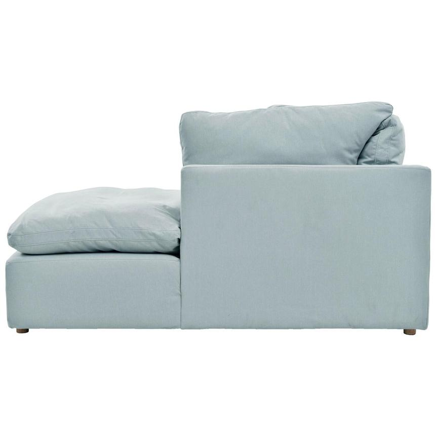 Neapolis Blue Sofa w/Right Chaise  alternate image, 3 of 6 images.