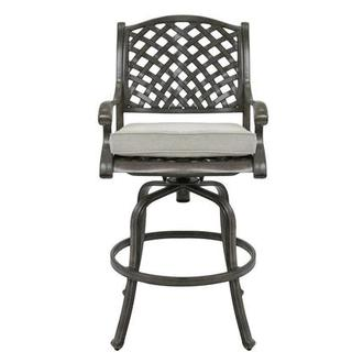 Castle Rock Gray Bar Stool
