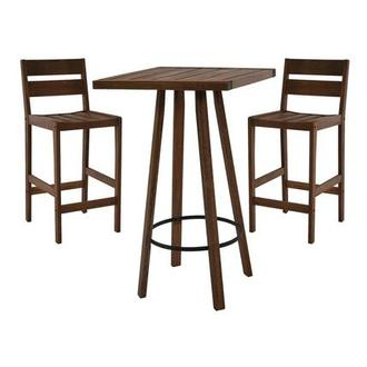 Nina 3-Piece Patio Set Made in Brazil