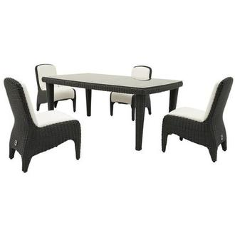 Luxor 5 Piece Patio Set El Dorado Furniture