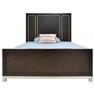 Metro Brown Full Panel Bed