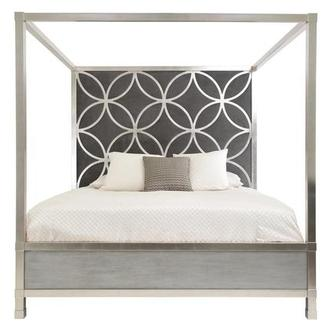 Chic King Canopy Bed