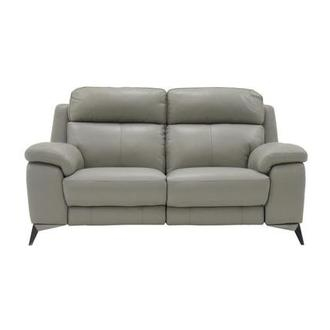 Barry Gray Power Motion Leather Loveseat