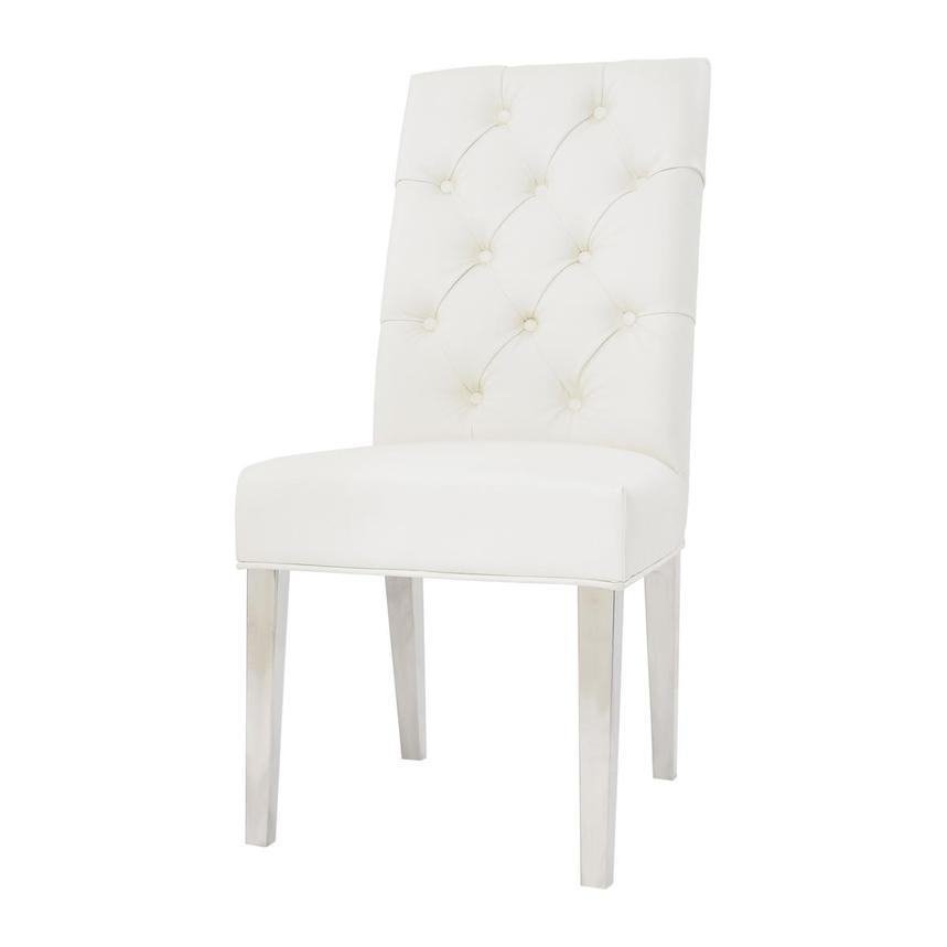 Leslie White Side Chair Alternate Image, 2 Of 11 Images.