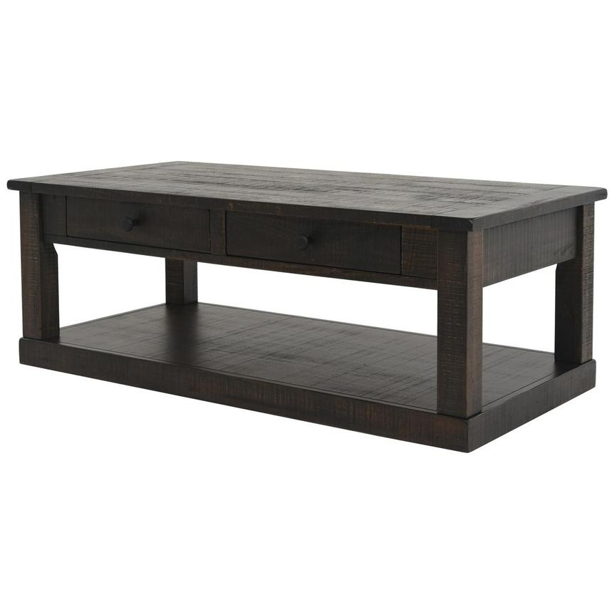 Sante Fe Coffee Table W/Casters Alternate Image, 2 Of 6 Images.