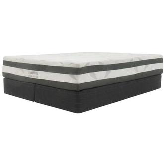 Helens King Memory Foam Mattress w/Regular Foundation by Carlo Perazzi