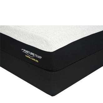 Coral Gables Queen Memory Foam Mattress w/Low Foundation by Sealy Posturepedic