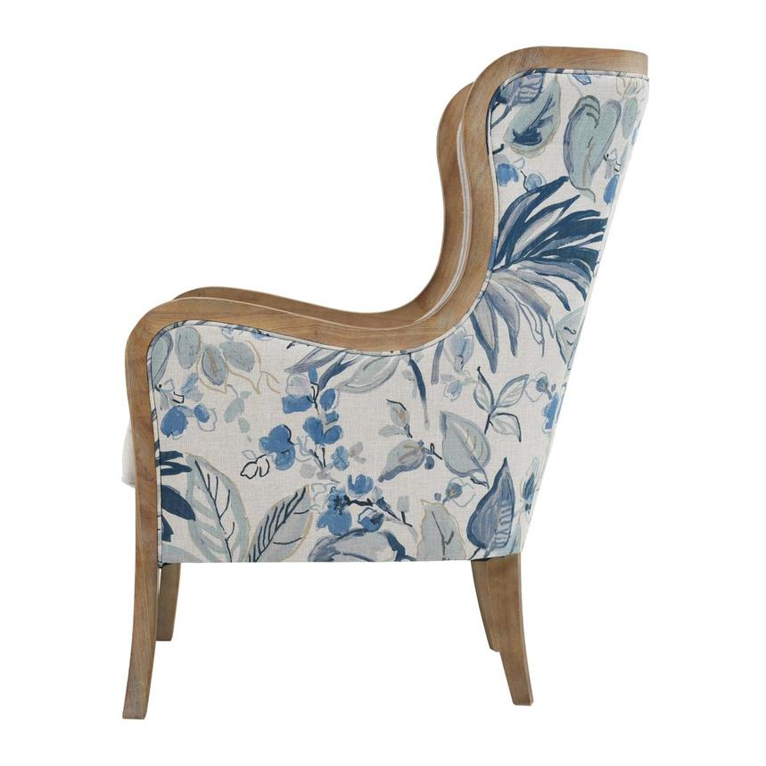 Scarlett Blue Accent Chair  alternate image, 3 of 6 images.