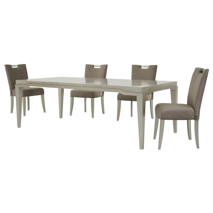 Edge 5-Piece Formal Dining Set  alternate image, 2 of 16 images.
